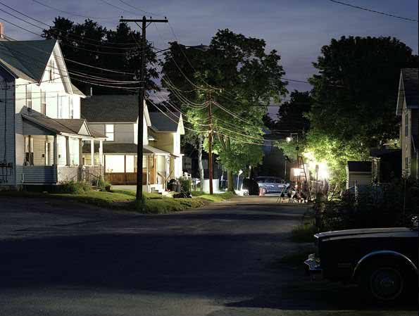 Gregory Crewdson - Oak Street (detail)