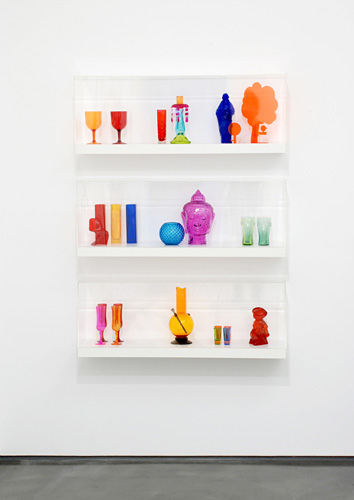 Matthew Darbyshire - Untitled (Shelves No. 1-3), 2008