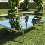 Rirkrit Tiravanija, Reflection ping pong table